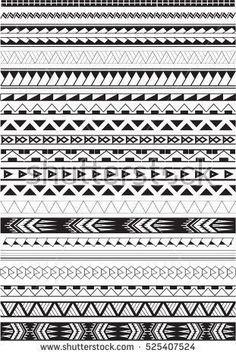 Maori brushes set in white - Brenda O. - Maori brushes set in white – - Maori Tattoos, Maori Tattoo Meanings, Warrior Tattoos, Marquesan Tattoos, Samoan Tattoo, Tattoos With Meaning, Tribal Tattoos, Borneo Tattoos, Filipino Tattoos