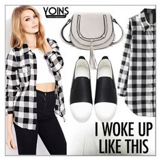 """""""Yoins #137"""" by whirlypath ❤ liked on Polyvore featuring Forever 21"""