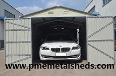 PME Sheds & Outdoor Storage - Metal Sheds and More / pmemetalsheds.com: 4 Basic Type Garage Doors for Vehicle Storage Solu...