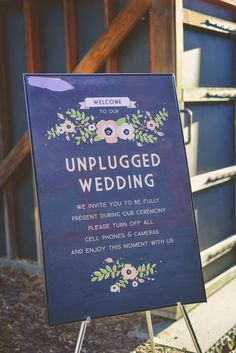 Unplugged wedding tips from readers as seen on @offbeatbride #unplugged #wedding
