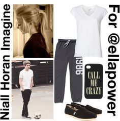 """Niall Horan Imagine for @ellapower"" by for-the-love-of-music ❤ liked on Polyvore"