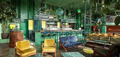 𝐁𝐀𝐑 𝐁𝐎𝐓𝐀𝐍𝐈𝐐𝐔𝐄 𝐂𝐀𝐅𝐄 𝐓𝐑𝐎𝐏𝐈𝐐𝐔𝐄: 𝐃𝐈𝐒𝐂𝐎𝐕𝐄𝐑 𝐀 𝐑𝐀𝐈𝐍𝐅𝐎𝐑𝐄𝐒𝐓-𝐋𝐈𝐊𝐄 𝐅𝐄𝐄𝐋 http://essentialhome.eu/inspirations/contract/bars/bar-botanique-cafe-tropique-discover-rainforest-like-feel/