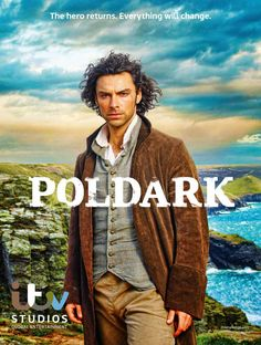 Poldark With Aidan Turner, Heida Reed, Eleanor Tomlinson, Kyle Soller. Ross Poldark returns to England after fighting in the American Revolution. His family and friends thought he was dead. The woman he hoped to marry is now engaged to his cousin. Poldark Tv Series, Poldark Cast, Poldark 2015, Demelza Poldark, Ross Poldark, Winston Graham, Eleanor Tomlinson, Peaky Blinders, Challenges