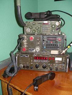 PRC Radio ITT | Someof the military radios at K0AJL: