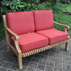 @Overstock - Add a touch of comfort and style to your backyard with a Kokomo teak loveseat. This rolled back outdoor loveseat is the perfect addition to any patio, balcony, porch, or garden.  Cushions sold separately.http://www.overstock.com/Home-Garden/Kokomo-Teak-Loveseat/4599385/product.html?CID=214117 $349.99