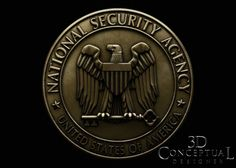 Treasury Funds.  A NSA Crest done for Splinter Cell Promotions. Description from 3dconceptualdesigner.blogspot.kr. I searched for this on bing.com/images