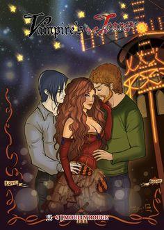 """Vampire's Tears n.4 """" Moulin Rouge"""", October, 2012 - Zaccagnino/ Pierpaoli / Iovine / Perfetti - ed. Cronaca di Topolinia CdT"""