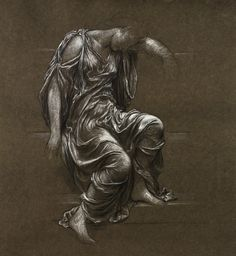Evelyn de Morgan - Figure study