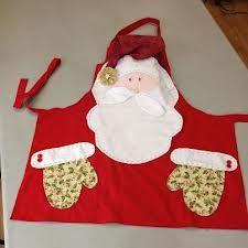 Christmas Aprons, Christmas Sewing, Felt Christmas, All Things Christmas, Christmas Ornaments, Sewing Crafts, Sewing Projects, Diy Crafts, Christmas Projects