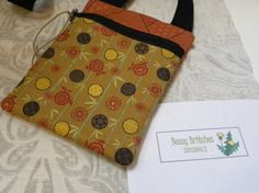 Unique Zippered Bag with AcrossTheChest Strap by TwoBossyBritches, $34.00