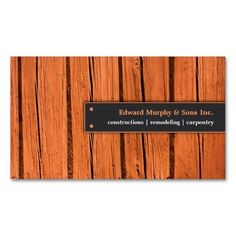 323 best carpenter business cards images on pinterest carpenter constructionscarpentry business card wajeb Choice Image