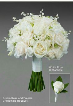 Lilly of the valley with roses
