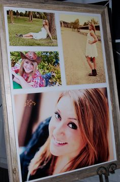 Capture Our Lives: Sweet 16 Country Western Party...definitely need a photo collage our of beautiful girl!
