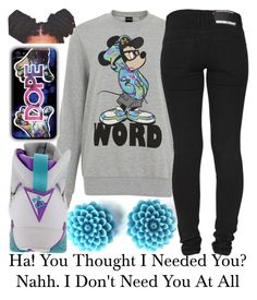 You Thought~~ by be-you-tiful-flower on Polyvore featuring polyvore fashion style Dr. Denim Retrò clothing