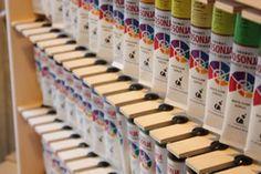 Jo Sonja Paint Tube Storage Rack