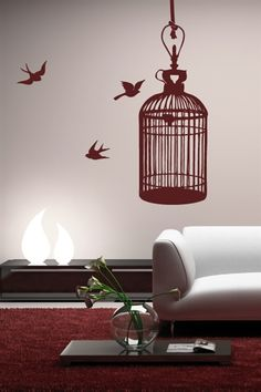 Cage Wall Art Design Ideas and inspiration