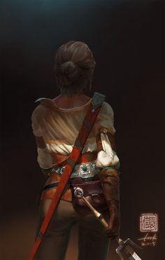 Ciri – The Witcher Wild Hunt fan art by Kan Liu High Fantasy, Medieval Fantasy, Fantasy Art, Fantasy Inspiration, Story Inspiration, Character Inspiration, Character Concept, Character Art, Concept Art