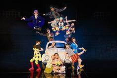 LOVE. The Beatles. Las Vegas Cirque du Soleil