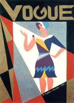 cMag625 - Vogue Magazine cover by Fortunato Depero / 1929