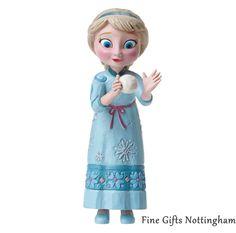 Elsa Mini Figurine Disney Frozen - Disney Traditions Jim Shore A27570 #ElsaMiniFigurineDisneyFrozen #DisneyTraditionsJimShore #FineGiftsNottingham