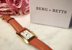 Berg and Betts watch. Made in Canada! Square Watch, Lifestyle Blog, Canada, Watches, Celebrities, How To Make, Shopping, Accessories, Fashion