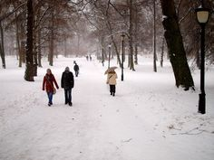 Snowing in the Castle Park Oslo, Castle, Park, Outdoor, Outdoors, Castles, Parks, Outdoor Games, The Great Outdoors