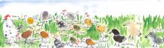 Fingerprint Art, Cute Headers, Cute Art, Header Twitter, Preschool Ideas, Wallpaper, Banners, Layouts, Gifs
