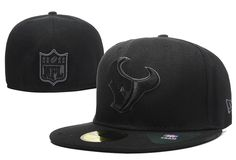 NFL Houston Texans New Era Size Hats Fitted Caps
