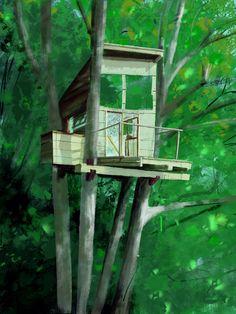 La casa en el árbol