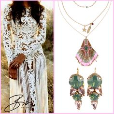 Pink and green in the new Bibi Bijoux collection. Pink And Green Mixed, Summer Collection, Product Launch, Lily, Bohemian, Inspiration, Jewelry, Fashion, Bijoux
