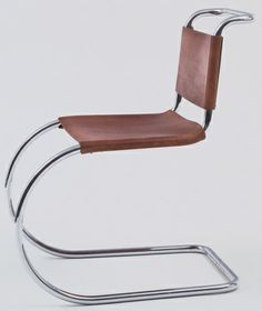MR Side Chair  Ludwig Mies van der Rohe (American, born Germany. 1886–1969)
