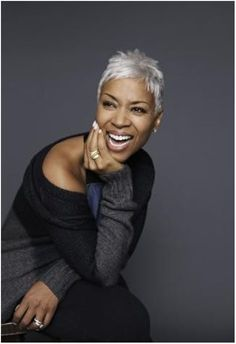 short hairstyles for black women _ natural hairstyles  43