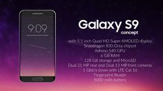 Samsung Galaxy S9 Full Specifications, 6GB RAM, 128 GB: The new era of G...