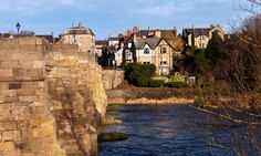 Corbridge, a small, popular town on the banks of the River Tyne in Northumberland. Idea for a Spring/Summer jaunt on my Vespa. Christmas Breaks, Christmas Holidays, Winter Breaks, Weekend Breaks, British Isles, The Guardian, Day Trip, United Kingdom, Places To Visit