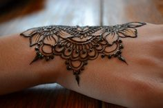 Henna -would love it for a peace sign... perhaps to cover up a crappy peace sign?