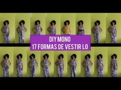 Como Hacer un DIY Mono, 17 Formas de Vestir Lo | Ropas para Viajar - YouTube