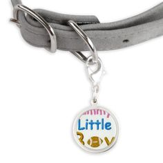 MUMMYS LITTLE BOY Small Round Pet Tag on CafePress.com