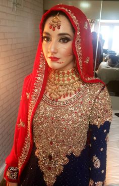 Bridal make up and look created by MUA: Raya Beauty based in UK. Beautiful bride