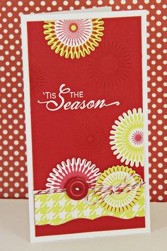 'Tis The Season Card by Erin Lincoln for Papertrey Ink (October 2012)