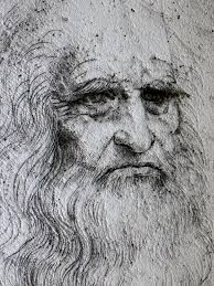 leonardo da vinci + treatise on painting - face