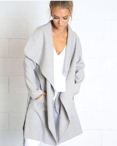 Moscow grey coat