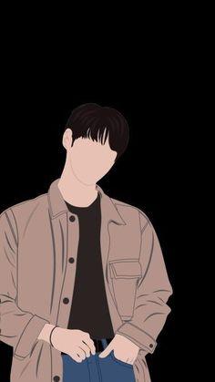 Digital Art Anime, Digital Art Girl, Wattpad Book Covers, Cute Couple Drawings, Cover Wallpaper, Illustration Art Drawing, Korean Art, Cartoon Art Styles, Boy Art