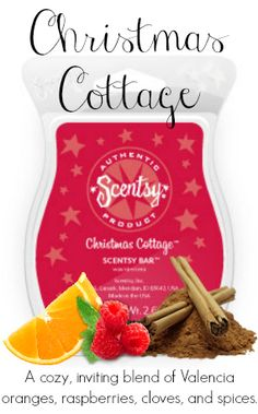 Christmas Cottage ~ Scentsy Bars https://kellimhenry.scentsy.us/