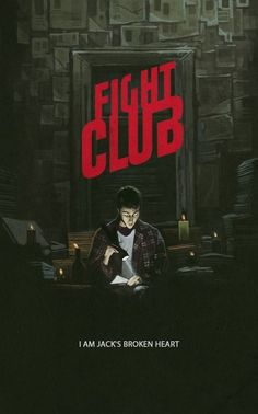 Fight Club poster by Yuri Shwedoff. 2014.
