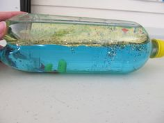 Ocean-in-a-Bottle Craft for Kids | Mercer County Library Blog