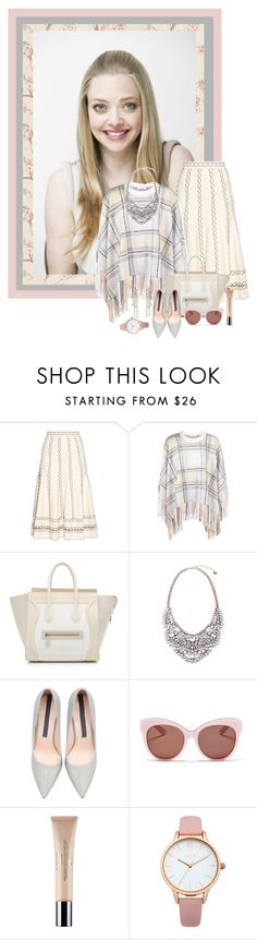 """""""Untitled #1192"""" by cnle ❤ liked on Polyvore featuring Alexander McQueen, Chloé, CÉLINE, Blanc & Eclare, Christian Dior, Oasis and Claudia Baldazzi"""