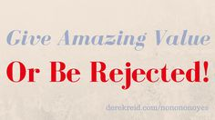 Dealing With Affiliate Offer Rejection