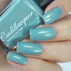 Cadillacquer Dreams and Dust Collection Swatches and Review. Nothing burnes like cold