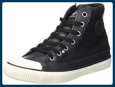 Pepe Jeans Mädchen Industry Sequins Hohe Sneakers, Schwarz (999Black), 39 EU - Sneakers für frauen (*Partner-Link)