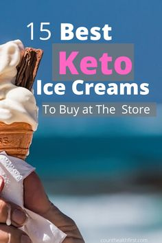 Check out the best store bought keto ice creams to pick up. They are creamy, delicious, and best of all low carb. Don't end up choosing the wrong low carb ice cream. Keto Ice Cream Brand, Low Cal Ice Cream, Keto Friendly Ice Cream, Sugar Free Ice Cream, Ice Cream Brands, Ice Cream Pops, Yummy Ice Cream, Ketogenic Ice Cream, Keto Dessert Easy